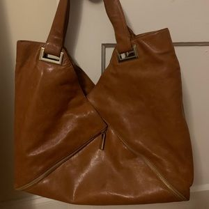 Kooba Ryder Tan Leather Tote